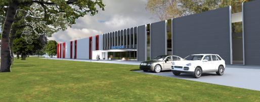 BALTEXIM naujasis pastatas Klaipedoje